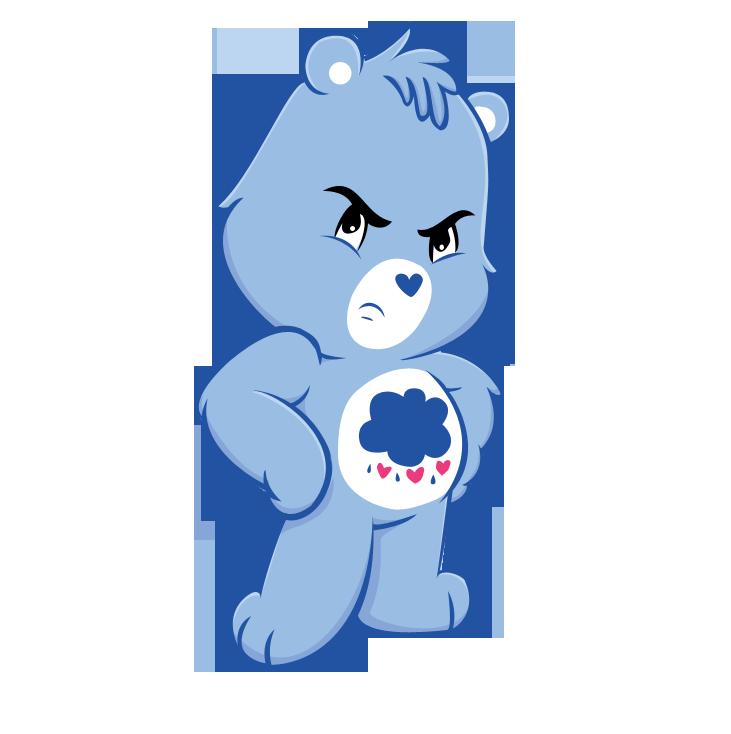 Grumpy Bear :3 by AprilSparrow on DeviantArt