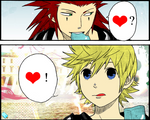 Axel and Roxas 8D