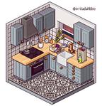 Kitchen by irritadahbbo