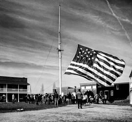 Star-Spangled Banner at Repose