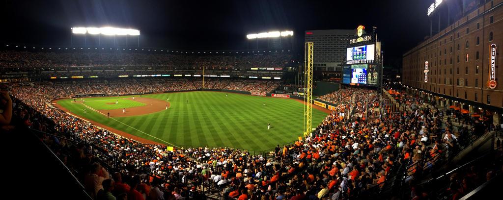 Friday Night at the Ballpark by maxlake2