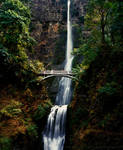 Multnomah Falls (analogue) by maxlake2