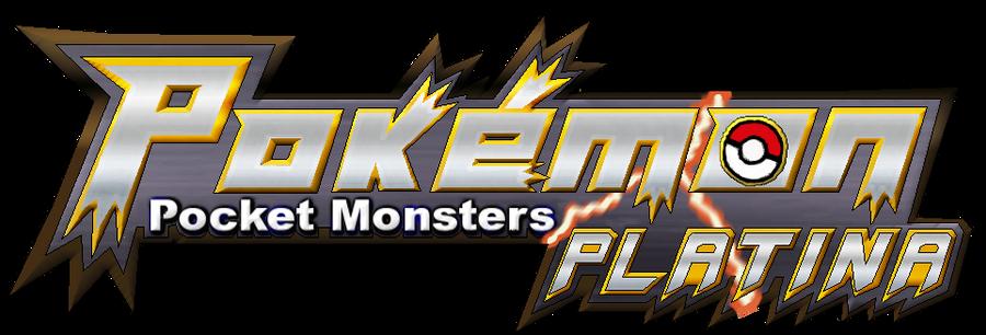 japanese style pokemon platina logo by sliter on deviantart