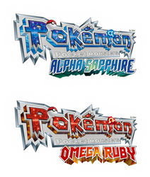 Pokemon - Pocket Monsters ORAS logo translation by Sliter