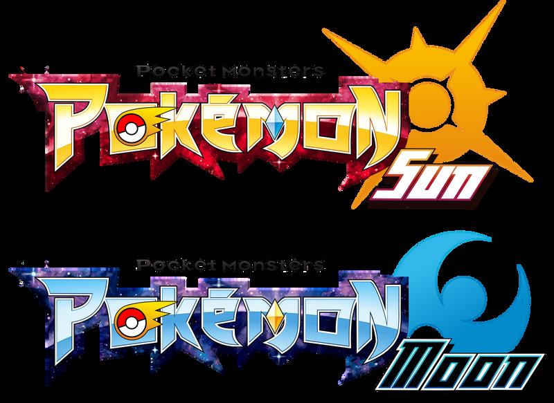 Pokemon Sun Moon  logos by Sliter