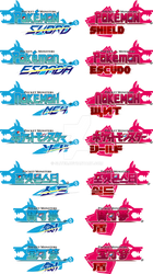 Pokemon Sword and Shield logos redesign by Sliter