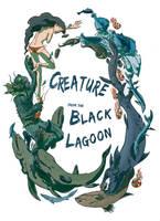 It Came From the Black Lagoon by kiri-no-tanuki