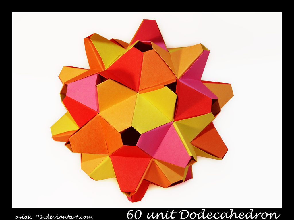 60 unit Dodecahedron by asiak-91