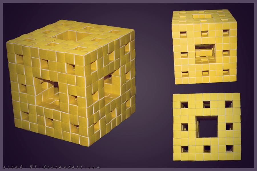 Menger sponge by asiak-91