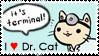 I :heart: Dr. Cat Stamp by mugcake