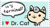 I :heart: Dr. Cat Stamp by mugcake