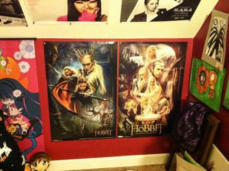 Hobbit movie posters by kinnyperedhel