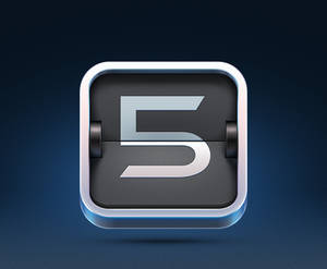 5minutes.to iOS Icon Design