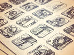 iPhone App Icon Sketches - Stage 1