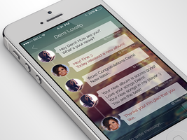 iPhone Chat App by Ramotion