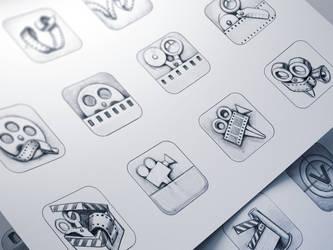Vizzywig iOS Icon Design Process by Ramotion