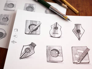 Mac Icon Sketching