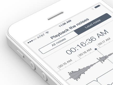 Sleep Tracker iPhone App