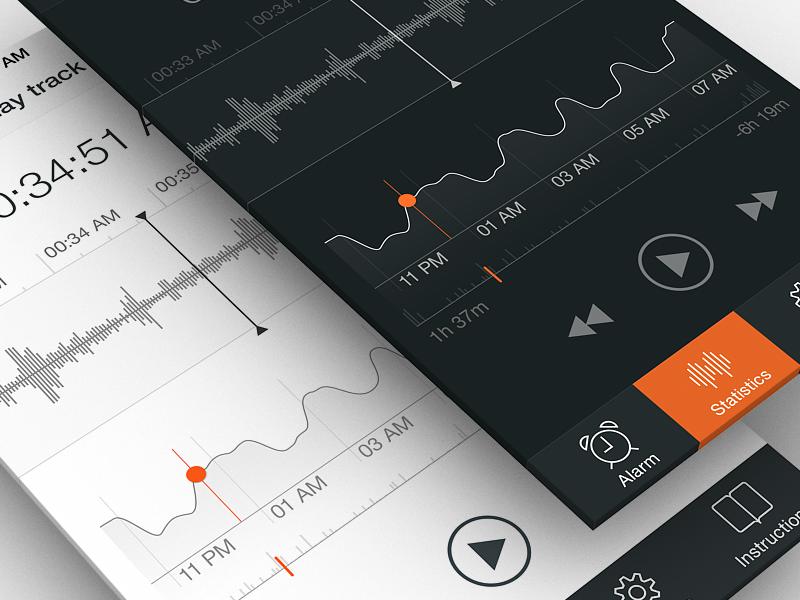 Sleep Tracker UI, Part 2 by Ramotion