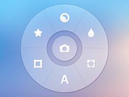 Photo App - Radial Controller