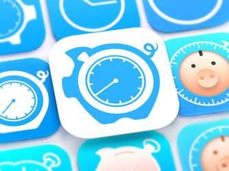 HoursTracker iOS App Icon