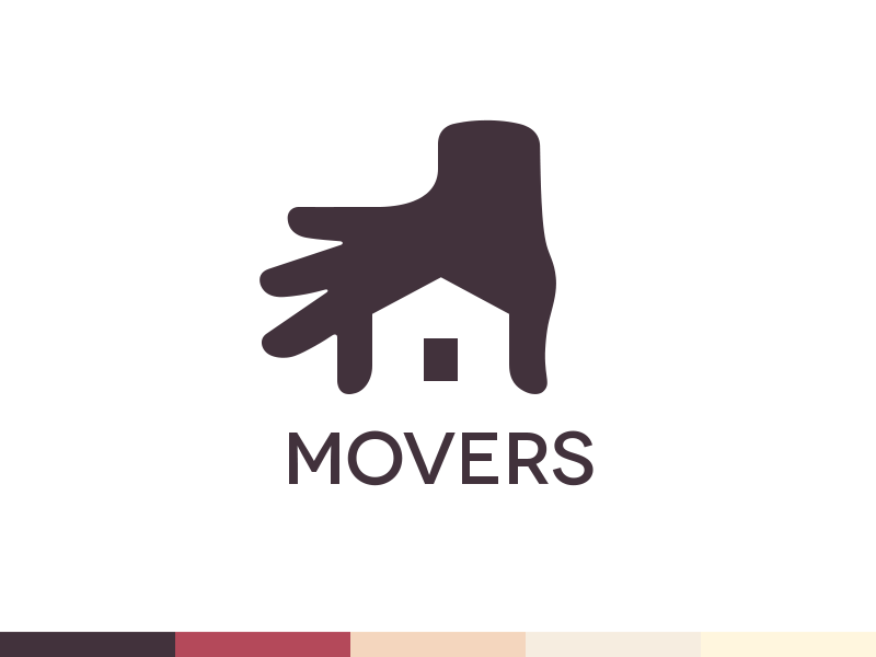Movers Logo Design by Ramotion on DeviantArt