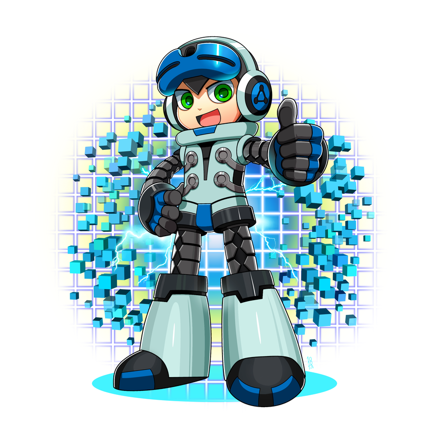 Mighty no.9 - Alcoholrang by Alcoholrang