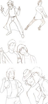 Bill and Ted Scribble Dump