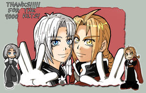 Allen and Edward - 4000 hits by Elix-Arts