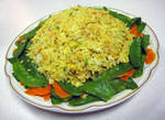 Rice w Snow Peas and Carrot