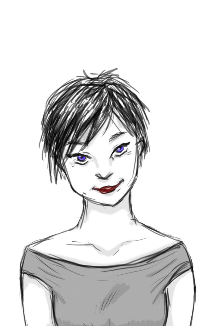 Violet by kristollini