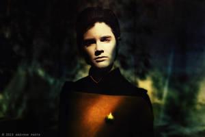 Data, Star Trek by andy-rak