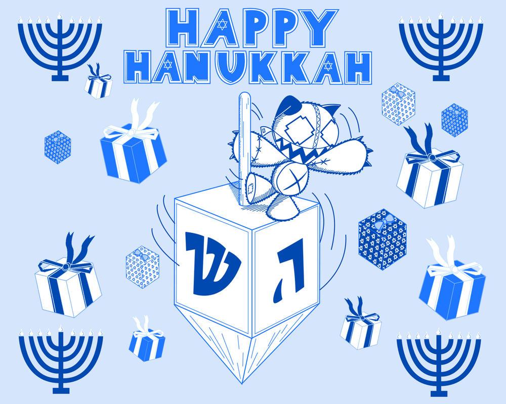 Tashy Hanukkah Wallpaper By Waddle J