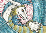 17. ACEO - Ice dragoness