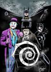 Batman burtonverse colours