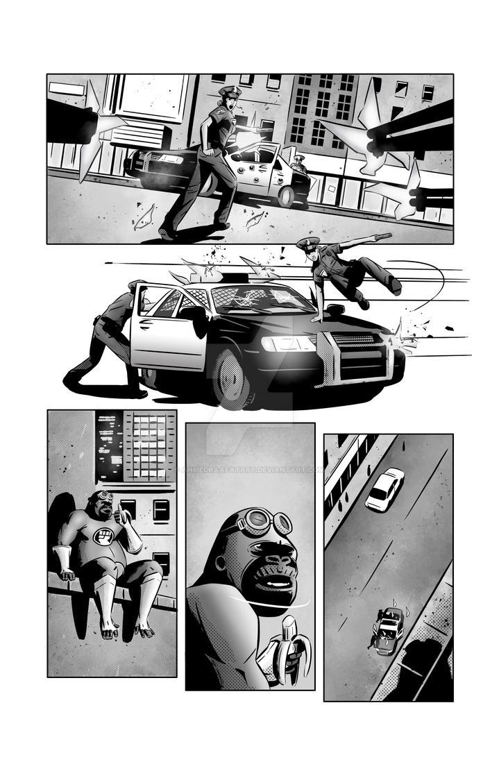 Gorilla My Dreams - Gorilla Tails page 3 by AhmedRaafatArt