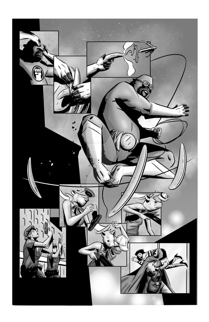 Gorilla My Dreams - Gorilla Tails page 4 by AhmedRaafatArt