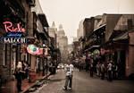 Bourbon Street..