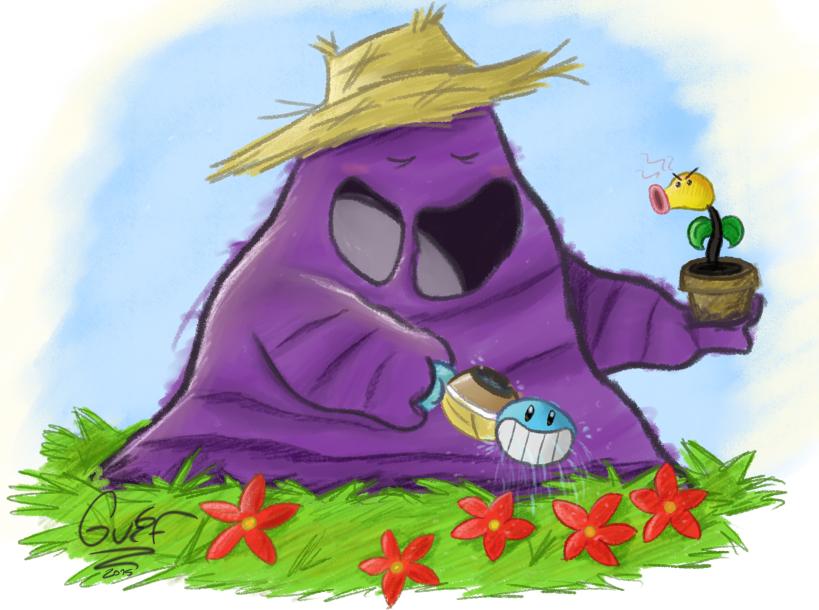 Horticulturalist Muk by Guilll
