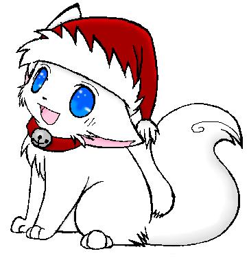 Christmas Kitten by MyaMyaChan