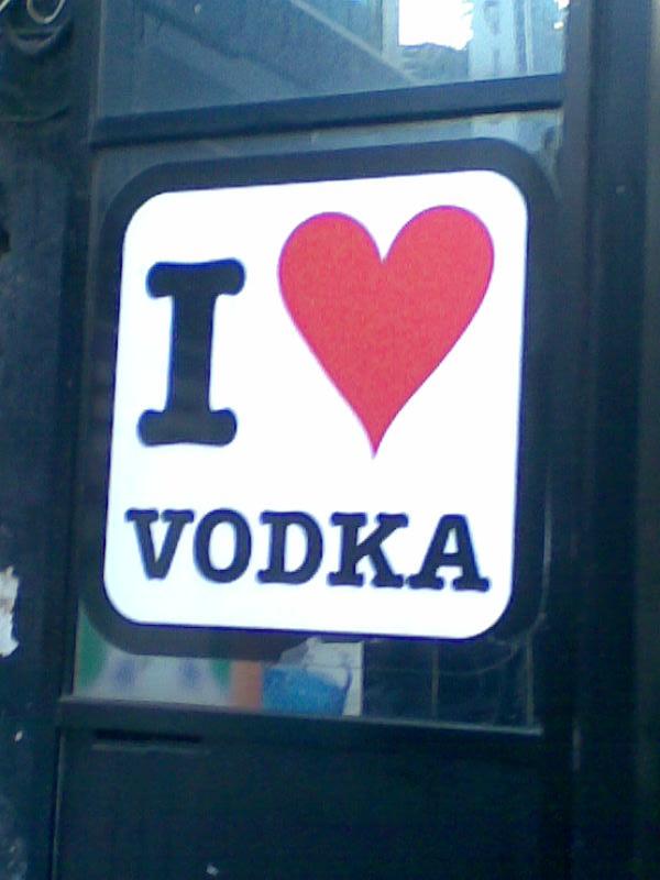I love Vodka by Loverlet on DeviantArt
