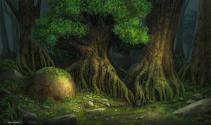 Deep Forest by FlorentPerret