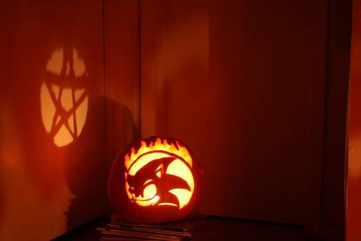 Sonic Pumpkin 2010