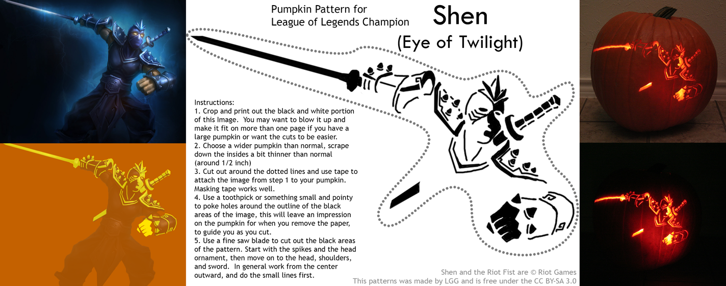 Shen Pumpkin Pattern by lordgreggreg