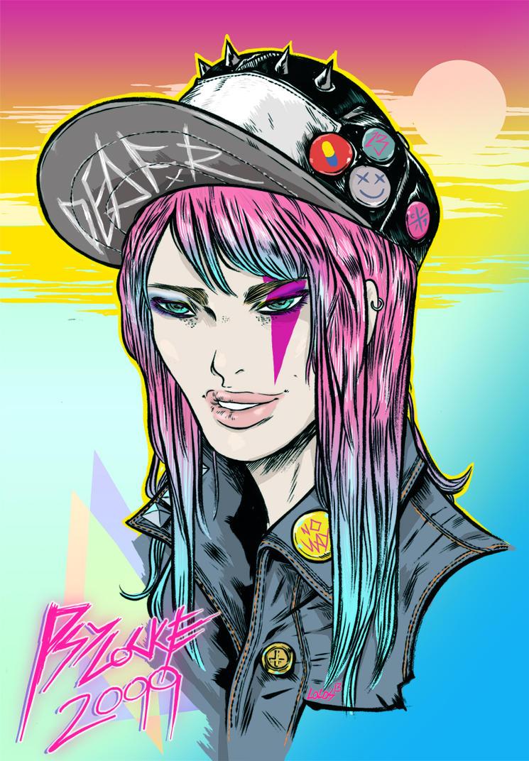Psylocke Lolos by steamrobo