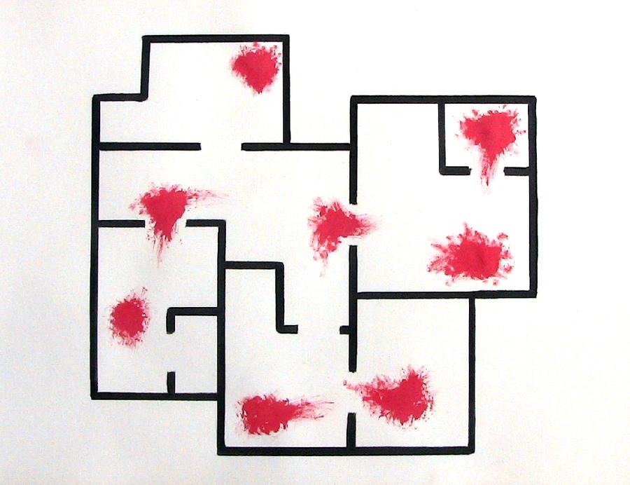 Hotline Miami (minimalist interpretation ) by Gaszp