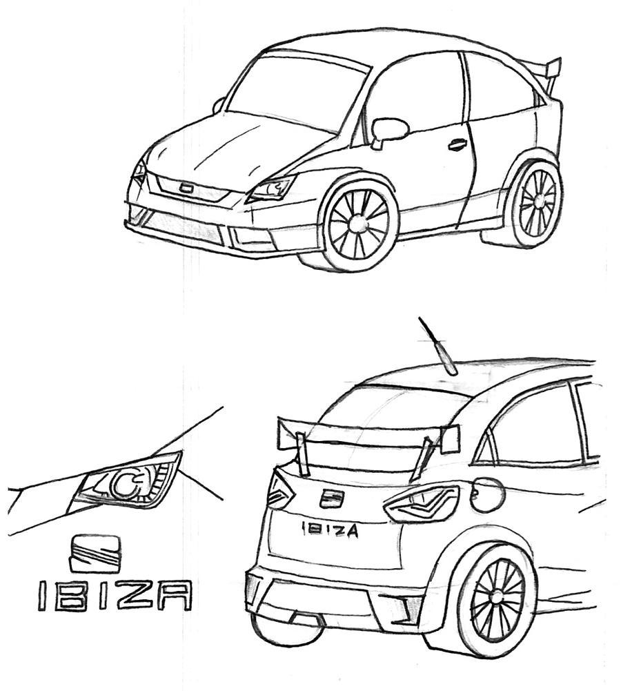 seat ibiza sc custom by nintendraw on deviantart