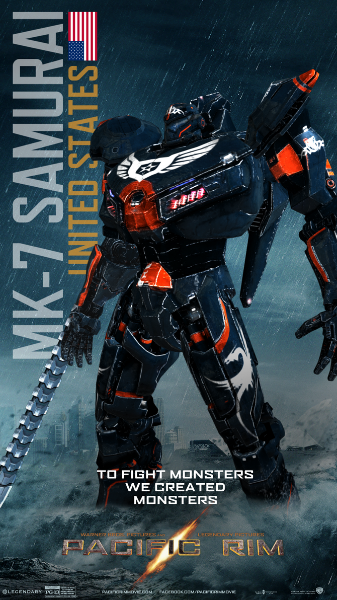 Pacific Rim-Jaeger MK-7.3 EBON STEALTH by Nintendraw on ... Pacific Rim Jaeger Countries