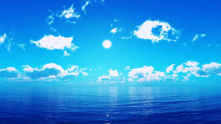MMD Sky and Sea Skydomes [DL LINK] by Nintendraw