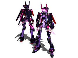 [MMD] Robot NRF-001 ESS [DL LINK] by Nintendraw